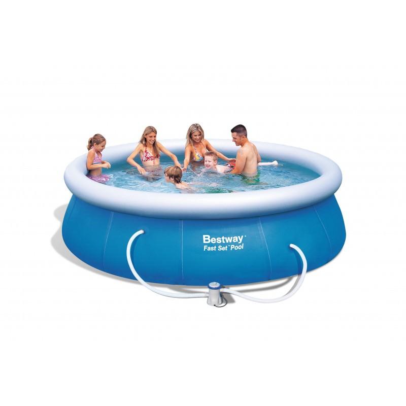 piscina-autoportante-fast-set-57263-bestway-fuori-terra
