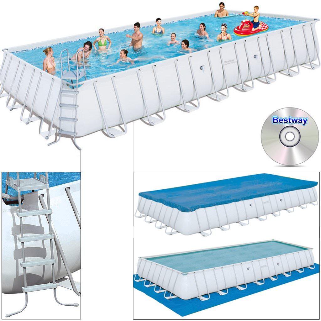 piscina bestway offerta steel pro