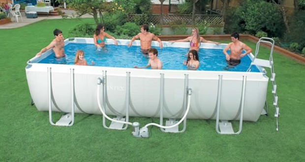 piscina fuori terra da giardino