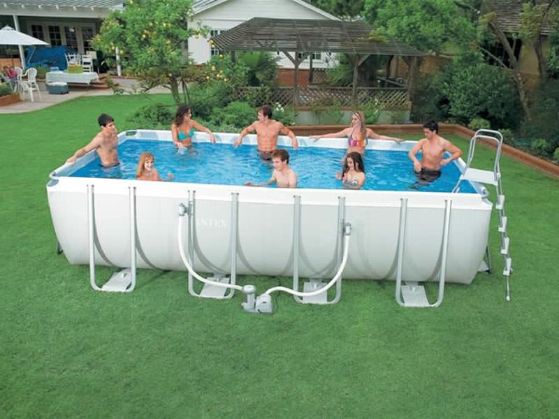 piscina fuori terra Intex Ultra Frame 732x366