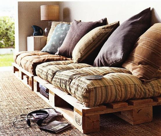 tutorial come fare un divano in pallet